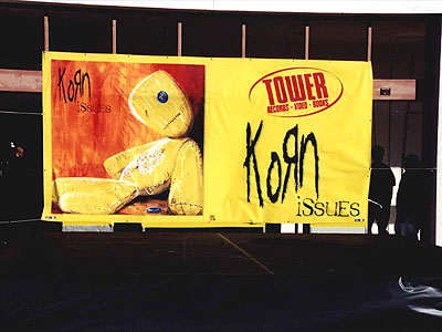 KoRn Issues Banner